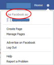 FB switching pages