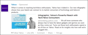 Linkedin Promoted Ad