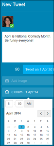 tweetdeck schedule tweet2