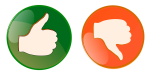 Thumbs up or down